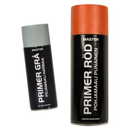 Sprayprimer röd / grå