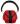 Hörselkåpa Röd EP107/SNR30 Compact