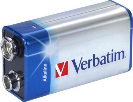 Batteri 9V 1-pack Verbatim