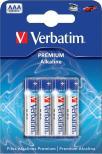 Batteri AAA 4-pack Verbatim