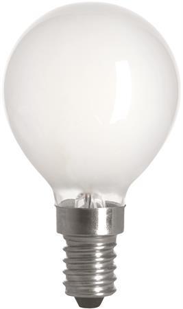 LED Lampa E14 Klot Matt