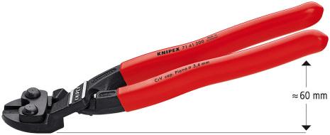 Kompaktbultsax Vinklad Knipex 7141