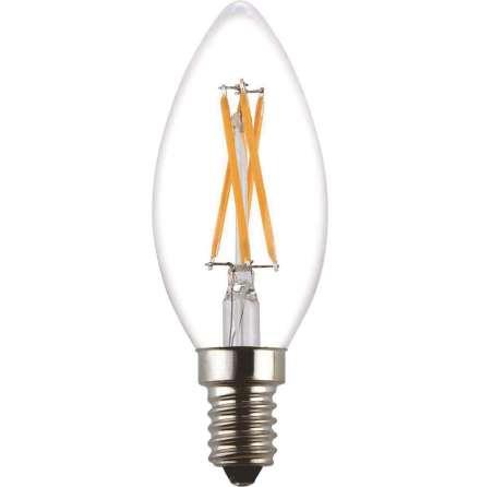 Filament LED-lampa E14 Kron Klar