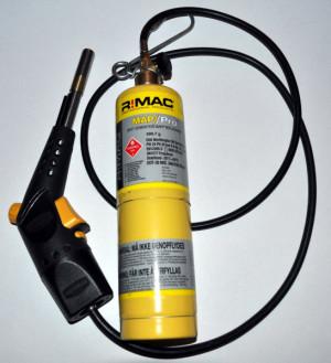 Mappgas Slang 1,5m med clips R!MAC