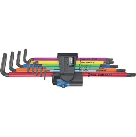 Torxnyckelsats Wera Rainbow 967/9 HF1
