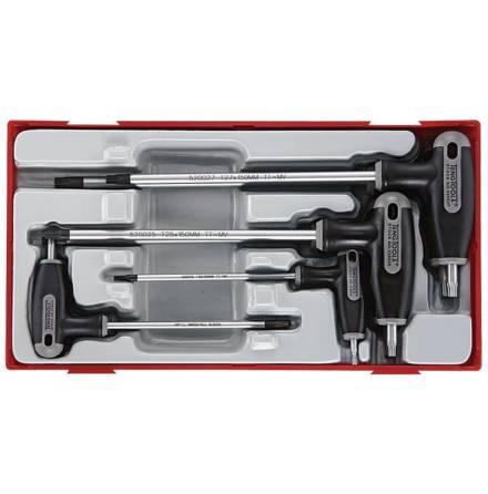 TX-nyckelsats T-handtag Teng Tools TTTX7