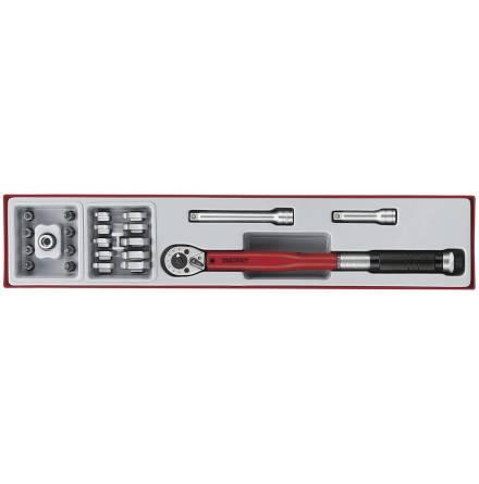 Momentnyckelsats 20-100Nm Teng Tools TTX3892